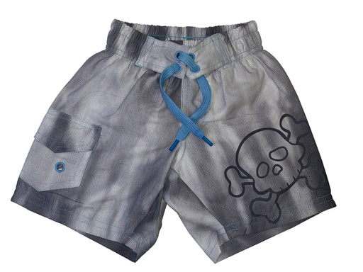 Board Shorts - Gray Tie Dye (4461177831499)
