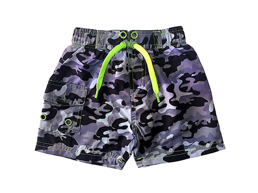 Board Shorts - Black Camo