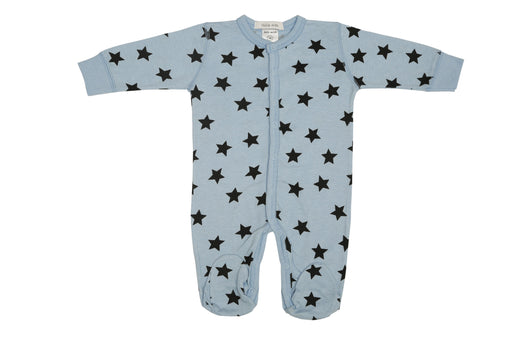 NEW Little Mish Star Footie - Light Blue