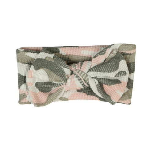 NEW Little Mish Thermal Headband - Pink Camo (4653721452619)