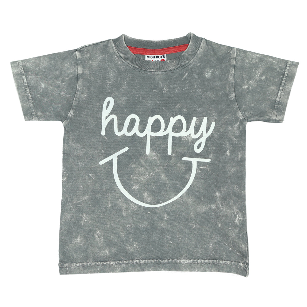 T-Shirt - Happy (4465628217419)