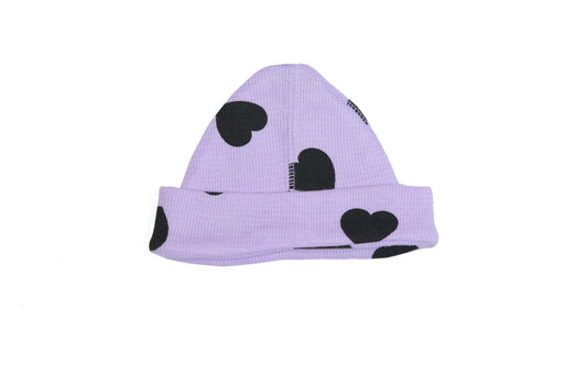 Little Mish Heart Thermal Hat - Lilac (Newborn Size)