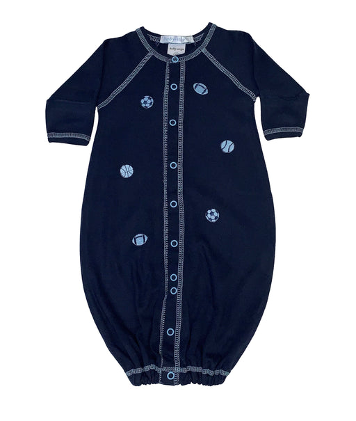 Converter Gown with Sports on Navy (4332064964683)