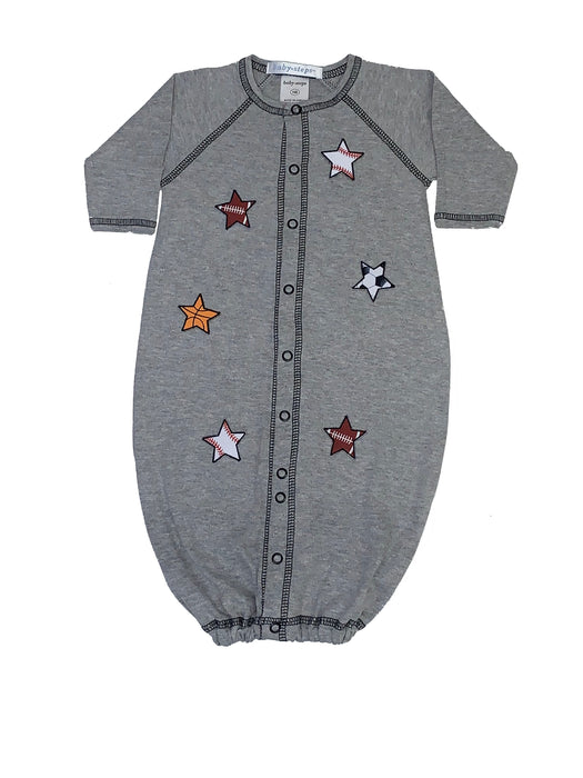 Converter Gown with Sports Stars on Heather