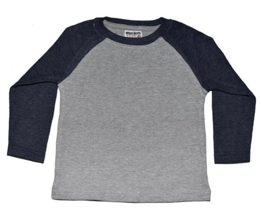 Long Sleeve Raglan Thermal - Heather and Navy (43631869970)