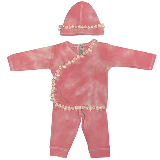 Tie Dye Take Me Home - Roses and Bows Ribbon - Leah