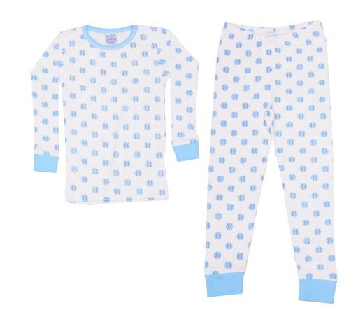 Pajamas - Baseballs on White (1510057672779)