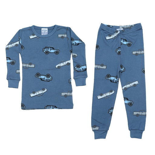 NEW Pajamas - Cars on Denim