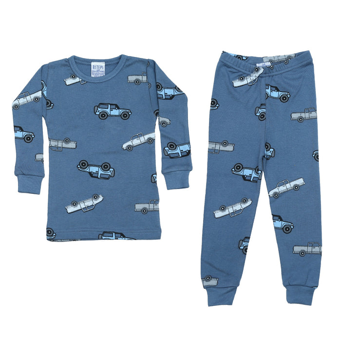 NEW Pajamas - Cars on Denim (4338452103243)