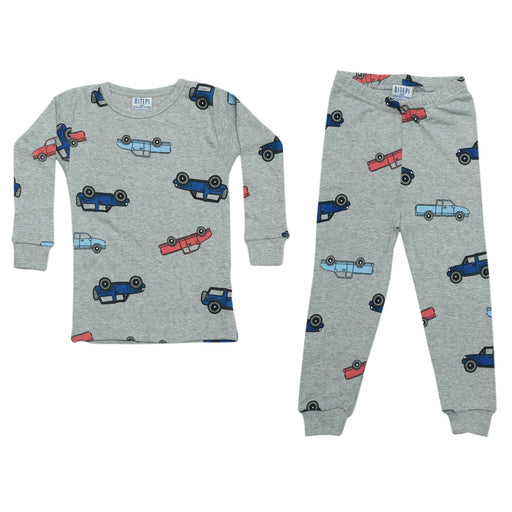 NEW Pajamas - Cars on Heather