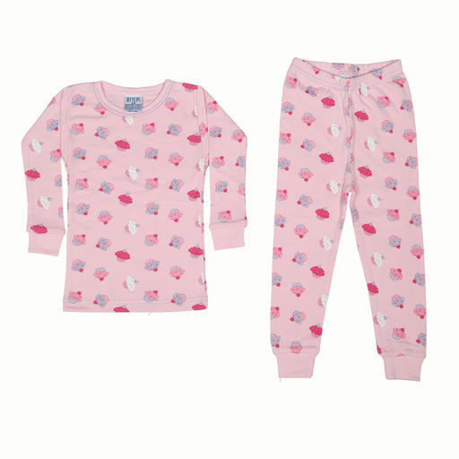 NEW Pajamas - Cupcakes on Pink (4338662473803)
