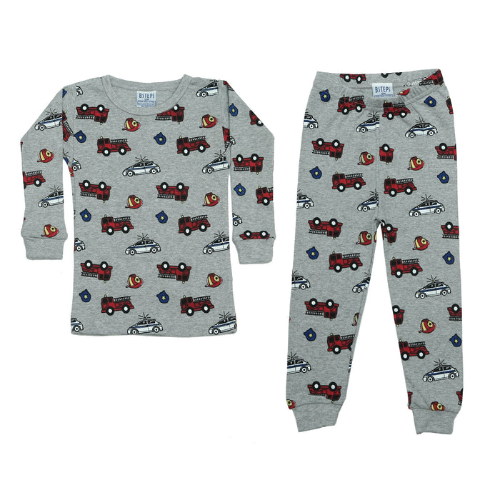 NEW Pajamas - Firetrucks (4338458493003)