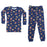 NEW Pajamas - Junk Food on Navy (4338456363083)