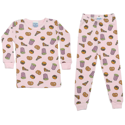 NEW Pajamas - Junk Food on Pink