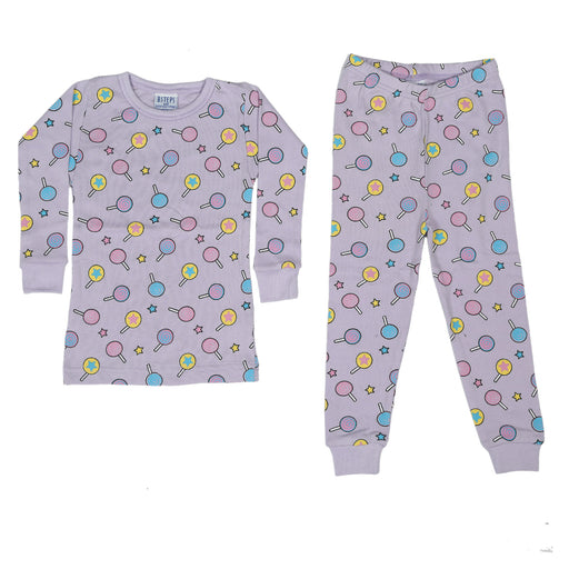 NEW Pajamas - Lollipops on Lilac (4338688294987)