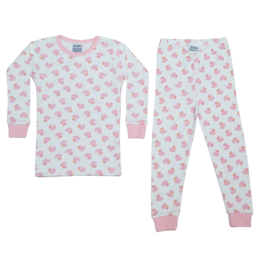 NEW Pajamas - Pink Ducks (4338686197835)