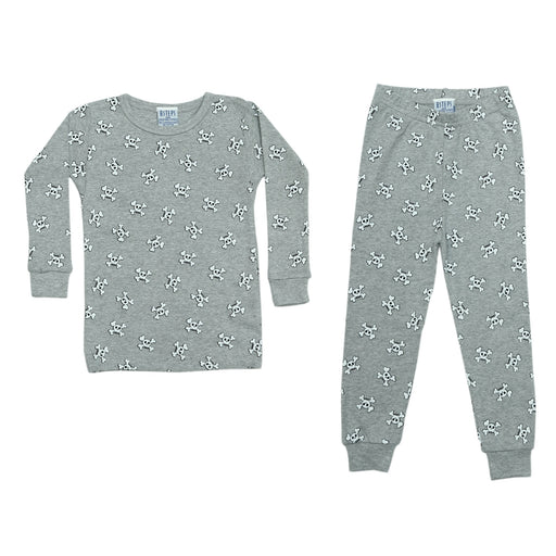 NEW Pajamas - Skulls on Heather (4338445910091)
