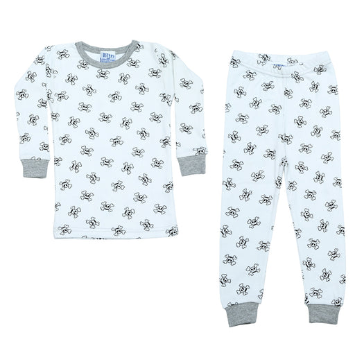 NEW Pajamas - Skulls on White (4338447319115)
