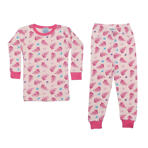 NEW Pajamas - Sneakers on Pink (4338582782027)
