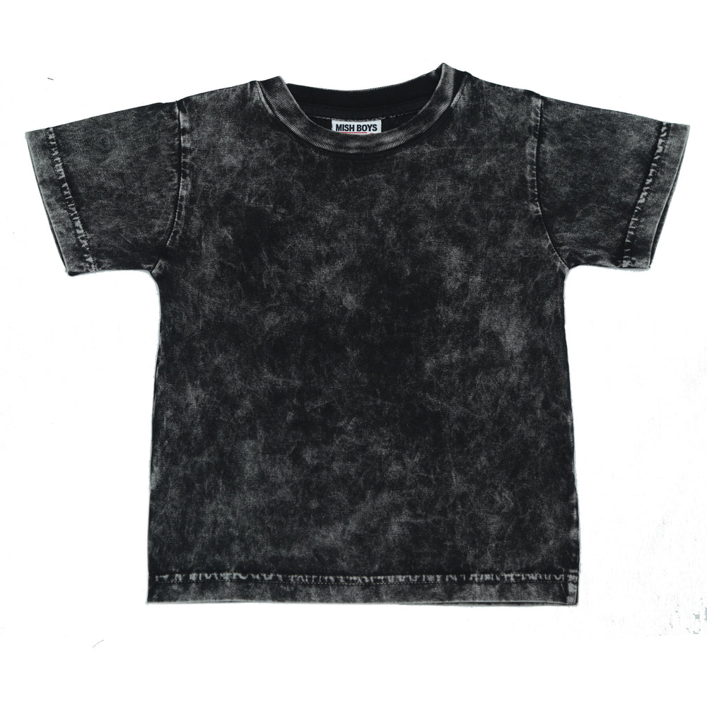 T-Shirt - Solid Black Enzyme (4506064420939)