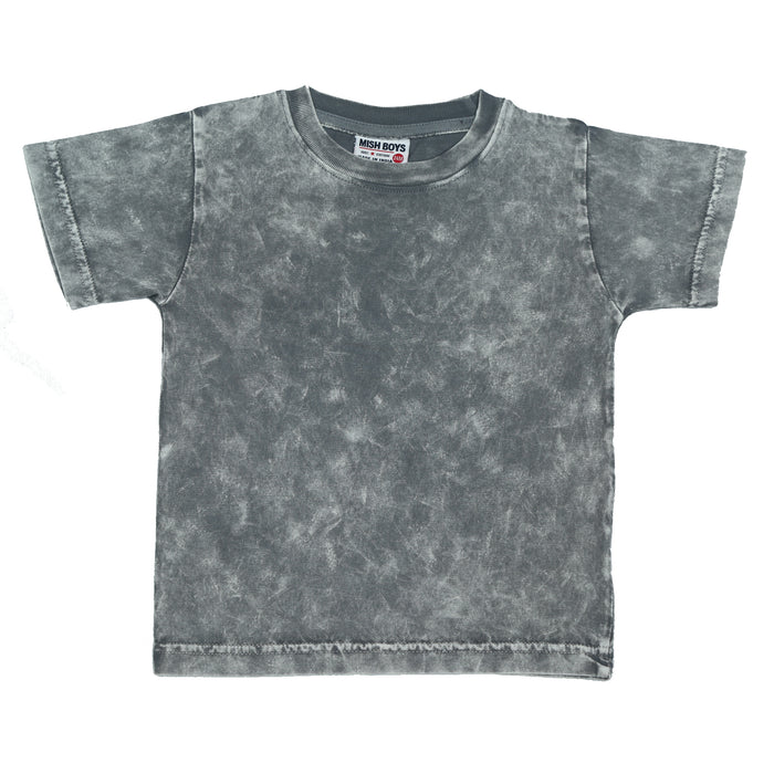 T-Shirt - Solid Coal Enzyme (4506068287563)