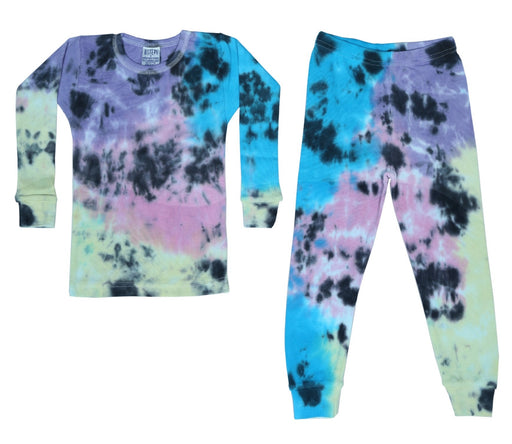 NEW!  NON-THERMAL Tie Dye Pajamas - Isla (4602150289483)