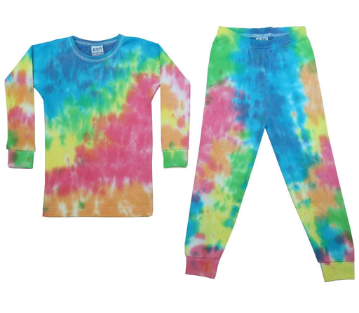 NEW!  NON-THERMAL Tie Dye Pajamas - Zoe (4644683087947)