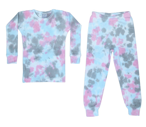 Thermal Tie Dye Pajamas - Grace (4092386213963)