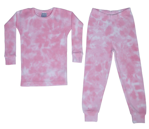 Thermal Tie Dye Pajamas - Leah (1475143336011)