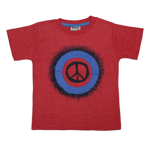 T-Shirt - Peace Splatter (4464833953867)