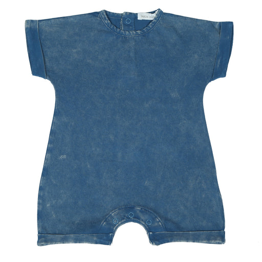 Romper - Denim Enzyme Wash (4503299391563)