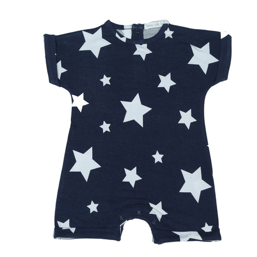 NEW Little Mish Shortall - Navy Stars (4497781981259)
