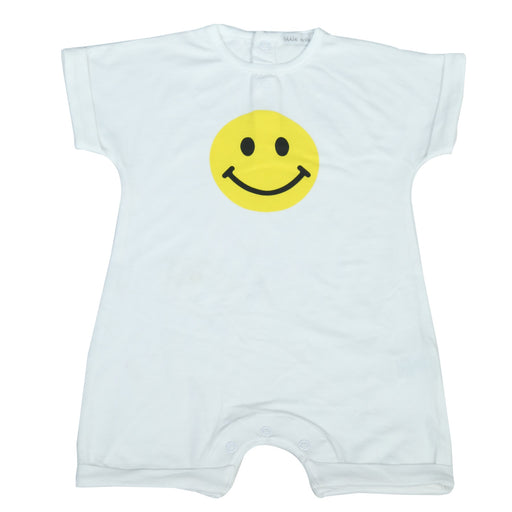 NEW Little Mish Shortall - Yellow Smileys (4497789386827)