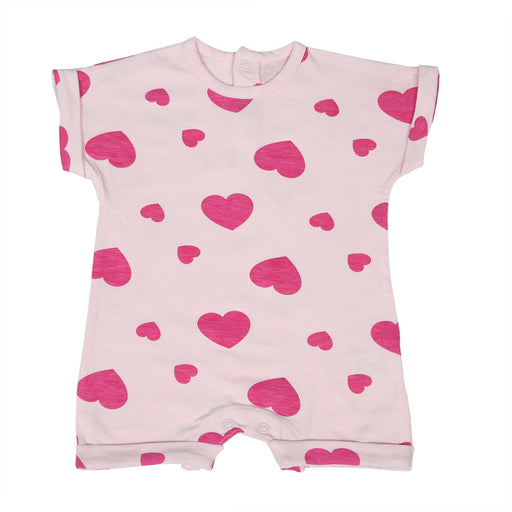 NEW Little Mish Shortall - Pink Hearts (4497794498635)