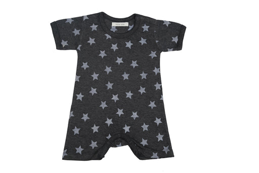 Little Mish Star Shortall - Navy (Available in NB only)