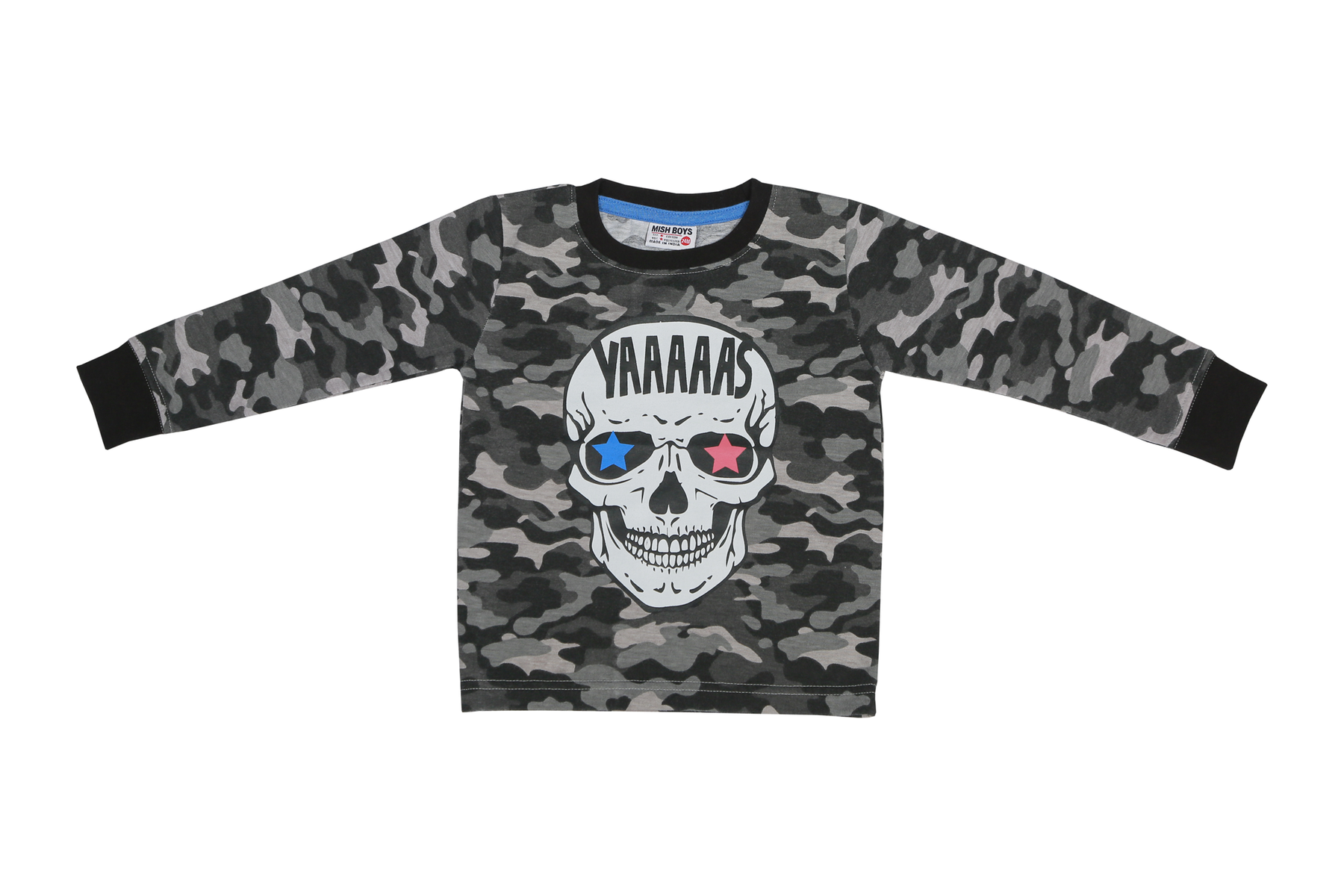 Long Sleeve Shirt - YAAS Skull