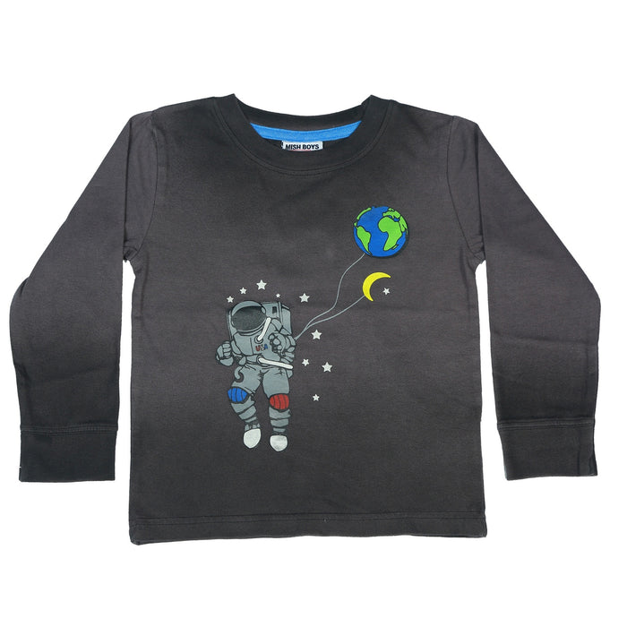 Long Sleeve Shirt - Spaceman
