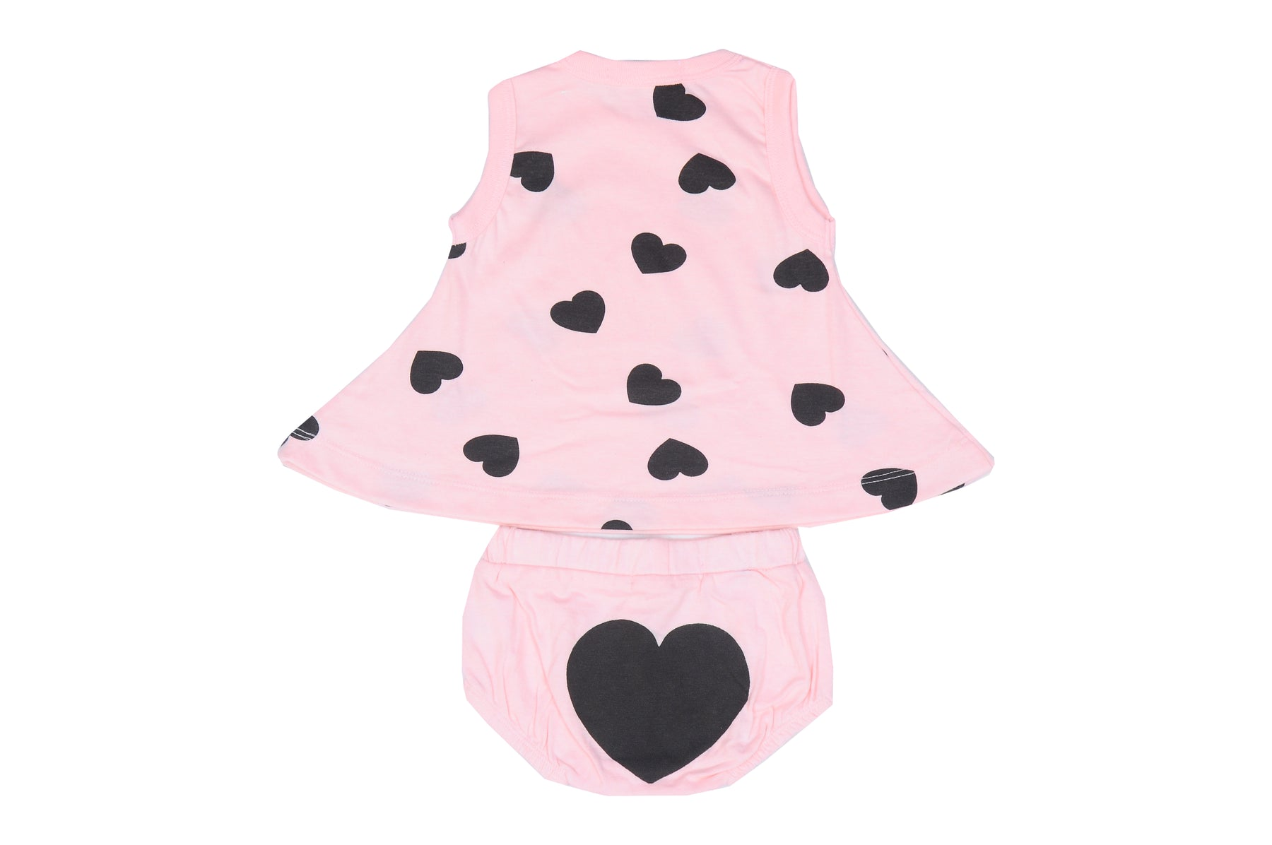 Little Mish Swing Top and Diaper Cover Set - Pink