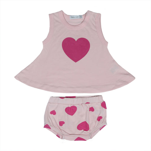 NEW Little Mish Swing Set - Pink Hearts (4497846927435)