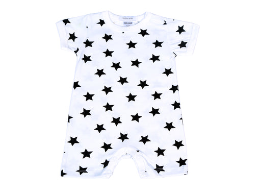 Little Mish Star Shortall - White