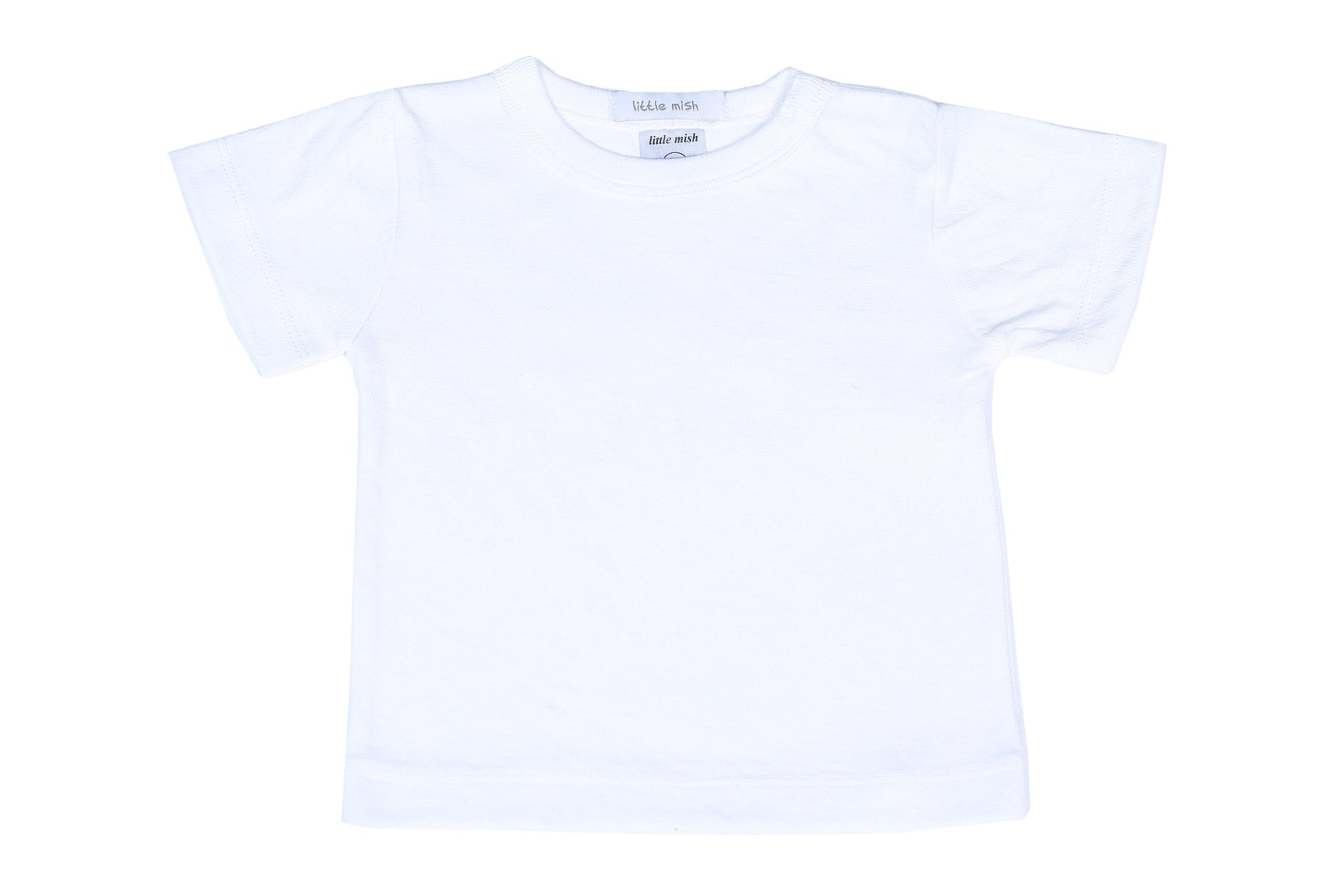 NEW Little Mish Solid Shirt - White