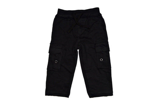 Knit Cargo Pants - Black