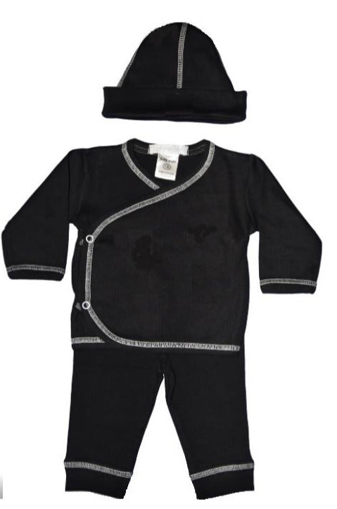 3 Piece Set- Simply Solid Black (4718551466059)