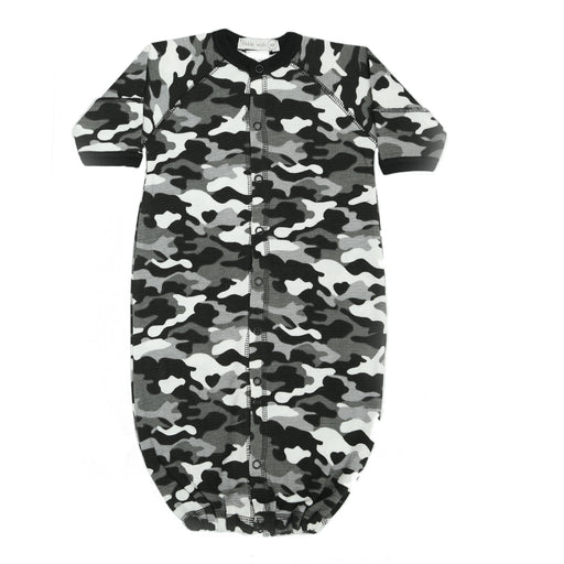 NEW Little Mish Thermal Converter Gown - Black Camo (available in NB only) (3972592238667)