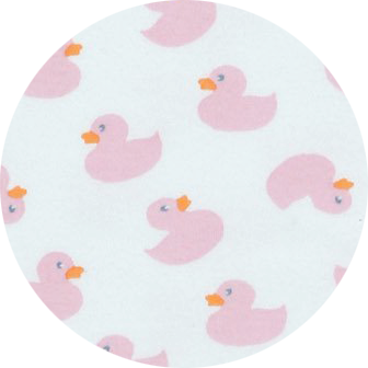 NEW Converter Gown - Pink Ducks (4345776144459)