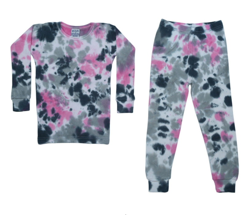 New Thermal Tie Dye Pajamas - Eva (4679820279883)