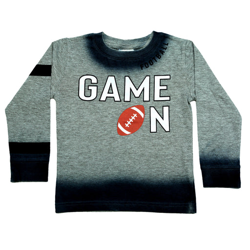 NEW Long Sleeve Ombre Shirt - Game On (4663745642571)