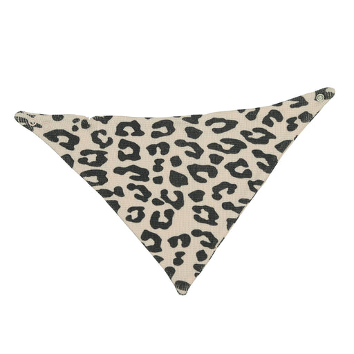 NEW FW20 Little Mish Reversible Thermal Bandana Bib - Coal Cheetah on Pink (4653606633547)
