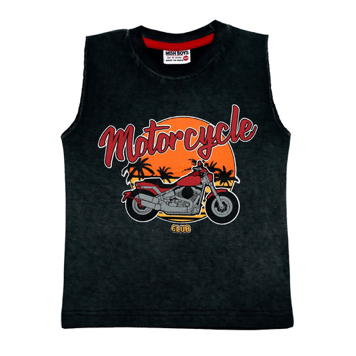 NEW! Muscle Shirt - Motorcycle (4738877128779)
