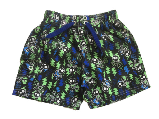 NEW! Swim Board Shorts - Skulls Lightning (4739767664715)